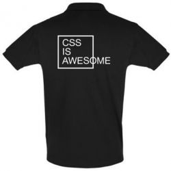 Футболка Поло CSS is awesome - FatLine