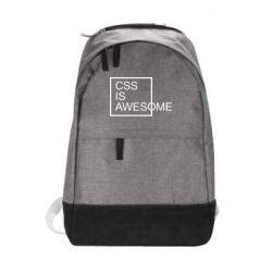 Рюкзак міський CSS is awesome
