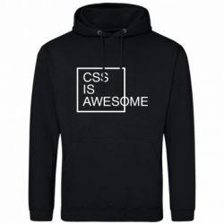 Чоловіча толстовка CSS is awesome