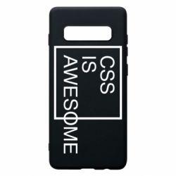 Чохол для Samsung S10+ CSS is awesome