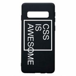 Чохол для Samsung S10 CSS is awesome