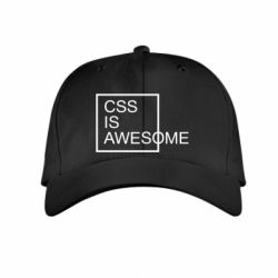 Дитяча кепка CSS is awesome