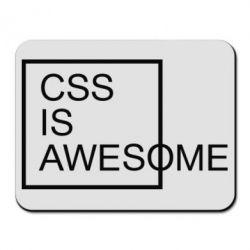 Килимок для миші CSS is awesome
