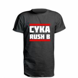 Подовжена футболка CUKA RUSH B