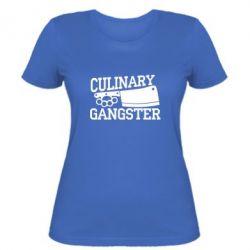 Женская футболка Culinary Gangster - FatLine