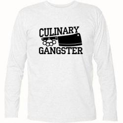 Футболка с длинным рукавом Culinary Gangster - FatLine