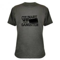 Камуфляжная футболка Culinary Gangster - FatLine