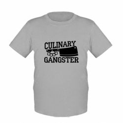 Детская футболка Culinary Gangster
