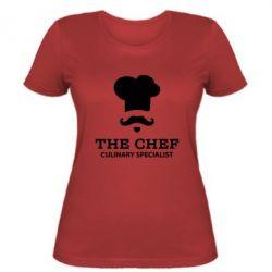 Женская футболка Culinary specialist