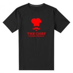 Мужская стрейчевая футболка Culinary specialist