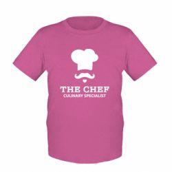 Детская футболка Culinary specialist