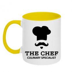 Кружка двухцветная Culinary specialist