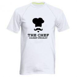 Мужская спортивная футболка Culinary specialist