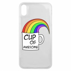 Чехол для iPhone Xs Max Cup of awesome