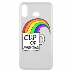 Чехол для Samsung A6s Cup of awesome
