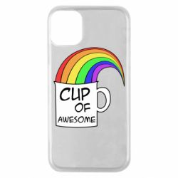 Чехол для iPhone 11 Pro Cup of awesome