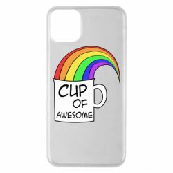 Чехол для iPhone 11 Pro Max Cup of awesome