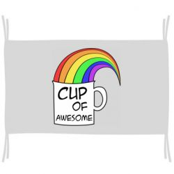Флаг Cup of awesome