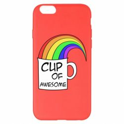 Чехол для iPhone 6 Plus/6S Plus Cup of awesome