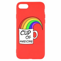 Чехол для iPhone 7 Cup of awesome