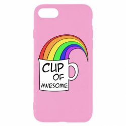 Чехол для iPhone 8 Cup of awesome