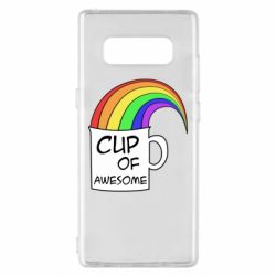 Чехол для Samsung Note 8 Cup of awesome