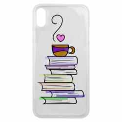 Чохол для iPhone Xs Max Cup of tea and books