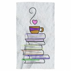 Рушник Cup of tea and books
