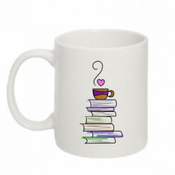 Кружка 320ml Cup of tea and books