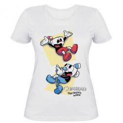 Жіноча футболка Cuphead 1