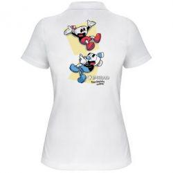 Жіноча футболка поло Cuphead 1