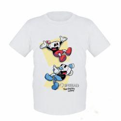 Дитяча футболка Cuphead 1