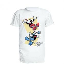 Подовжена футболка Cuphead 1