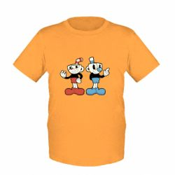 Детская футболка Cuphead
