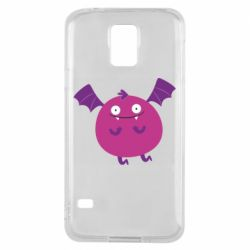 Чехол для Samsung S5 Cute bat - FatLine