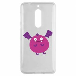 Чехол для Nokia 5 Cute bat - FatLine