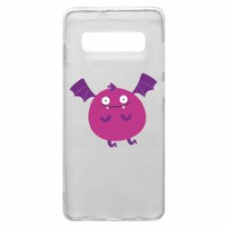 Чехол для Samsung S10+ Cute bat - FatLine