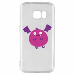 Чехол для Samsung S7 Cute bat - FatLine