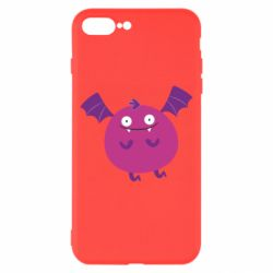Чехол для iPhone 8 Plus Cute bat - FatLine