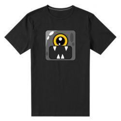 Чоловіча стрейчева футболка Cute black boss