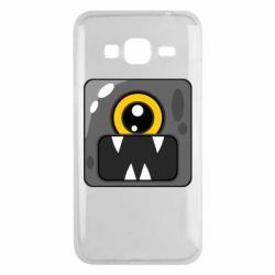 Чохол для Samsung J3 2016 Cute black boss
