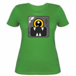 Жіноча футболка Cute black boss