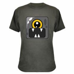 Камуфляжна футболка Cute black boss