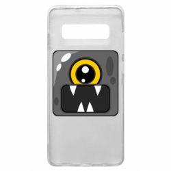 Чохол для Samsung S10+ Cute black boss