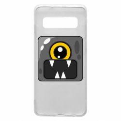 Чохол для Samsung S10 Cute black boss
