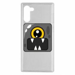 Чохол для Samsung Note 10 Cute black boss
