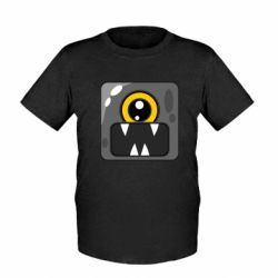 Дитяча футболка Cute black boss