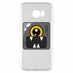 Чохол для Samsung S7 EDGE Cute black boss
