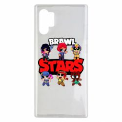 Чехол для Samsung Note 10 Plus Cute Brawl Stars Heroes