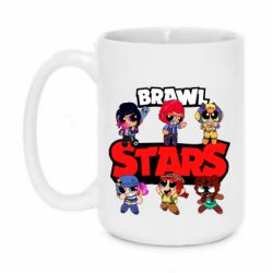 Кружка 420ml Cute Brawl Stars Heroes